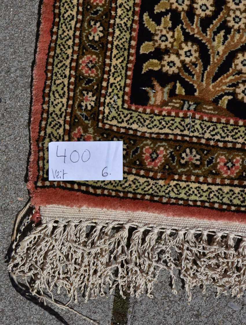 CARPET QUM silk on Cotton, Central Persia, 1970 - photo 9