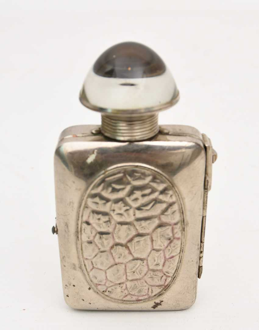 HASSIA flashlight,Nickel-plated metal/glass, Germany, 1920s - photo 1