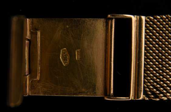 "DULFI ""SUPER AUTOMATIC DELUXE"", Unisex,750 yellow gold, stamped, Switzerland, 1970s - photo 6"