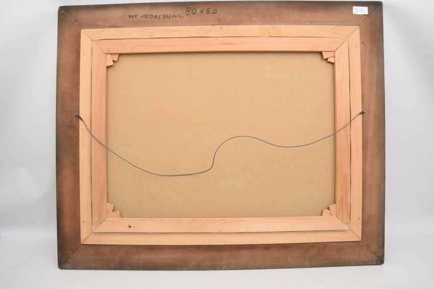 "FRIEDRICH KLAIBERG:""ducks on lake"", Oil on canvas, framed and signed - photo 3"