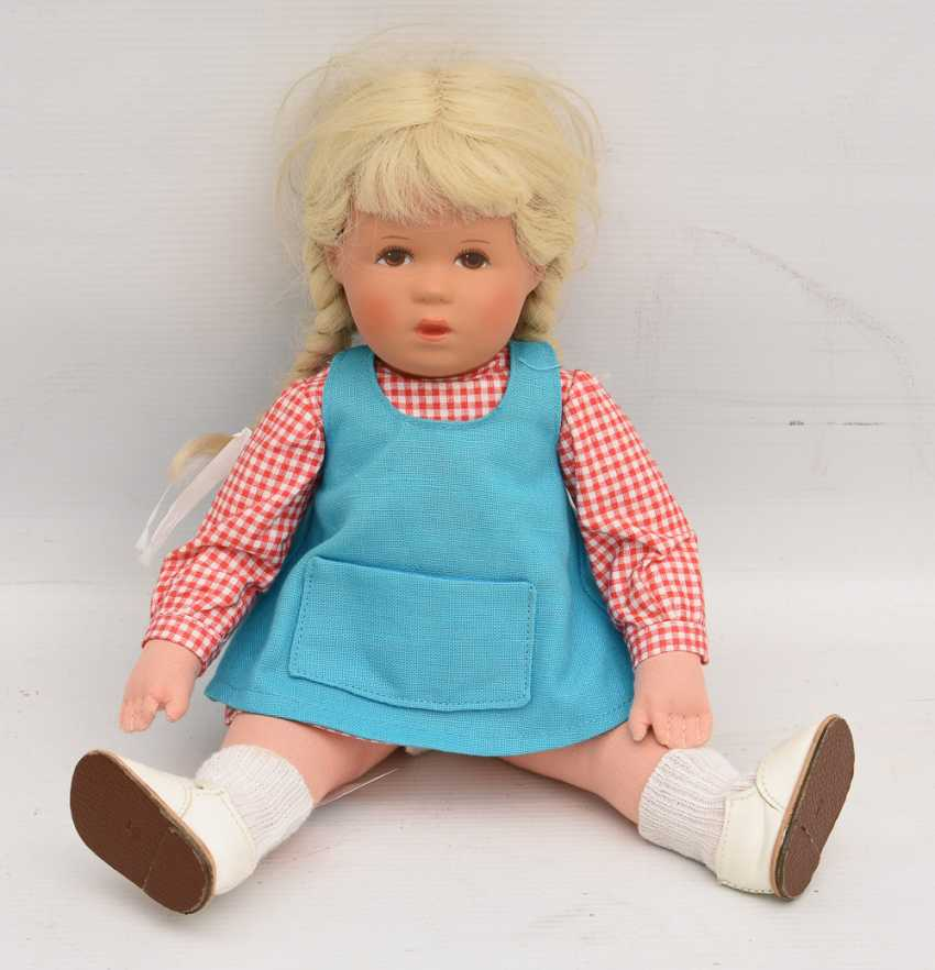 DOLLS VINTAGE cloth/human hair, Germany, 20. Century - photo 4
