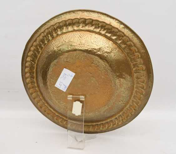 Eller ADORNS, brass engraved/ornamented, marked, North Africa 1. Half of the 20. Century - photo 3