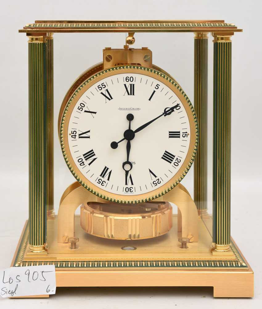 "JAEGER-LECOULTRE ""ATMOS VENDOME (Empire / Directoire)"", Bronze/Plexiglass Schweiz um 1975 - photo 1"