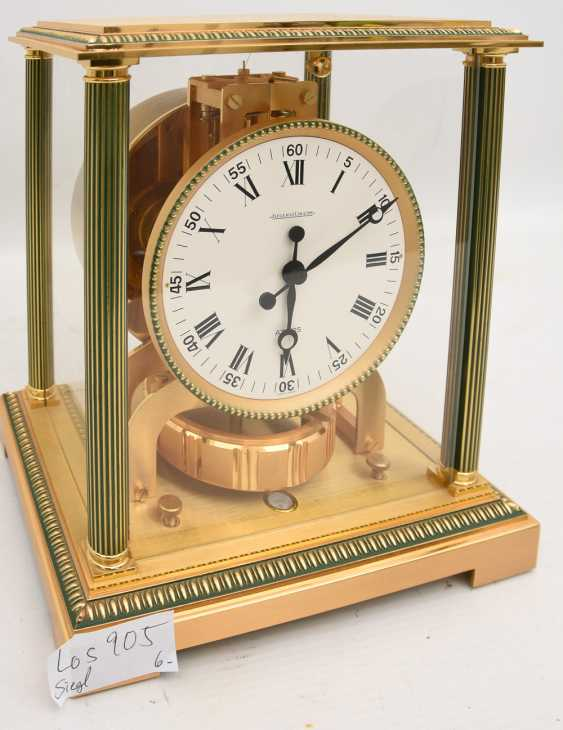 "JAEGER-LECOULTRE ""ATMOS VENDOME (Empire / Directoire)"", Bronze/Plexiglass Schweiz um 1975 - photo 3"