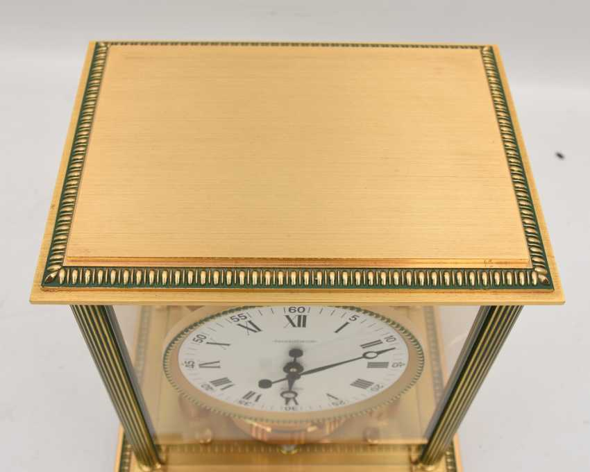 "JAEGER-LECOULTRE ""ATMOS VENDOME (Empire / Directoire)"", Bronze/Plexiglass Schweiz um 1975 - photo 4"