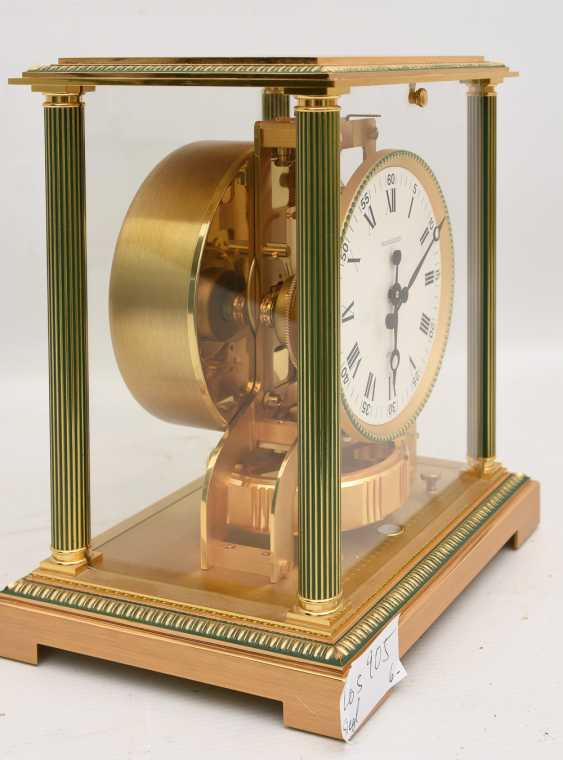 "JAEGER-LECOULTRE ""ATMOS VENDOME (Empire / Directoire)"", Bronze/Plexiglass Schweiz um 1975 - photo 5"