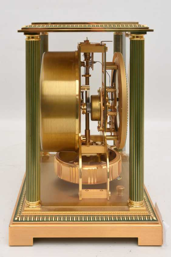 "JAEGER-LECOULTRE ""ATMOS VENDOME (Empire / Directoire)"", Bronze/Plexiglass Schweiz um 1975 - photo 6"