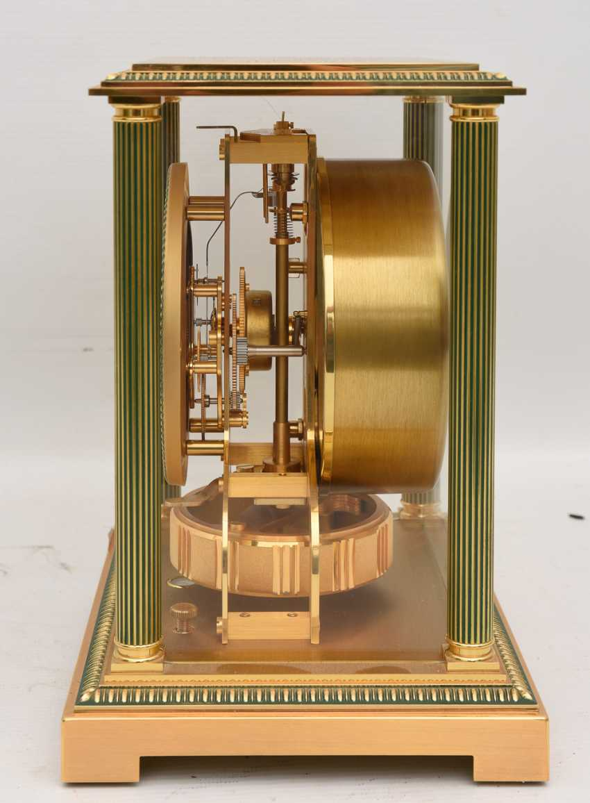 "JAEGER-LECOULTRE ""ATMOS VENDOME (Empire / Directoire)"", Bronze/Plexiglass Schweiz um 1975 - photo 8"