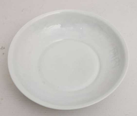 AT HUA hin PLATES, glazed porcelain with polychrome Lithophanie , marked,, China, 19./20. Century - photo 5
