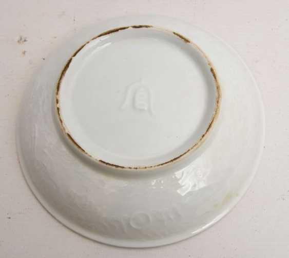 AT HUA hin PLATES, glazed porcelain with polychrome Lithophanie , marked,, China, 19./20. Century - photo 6