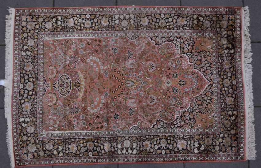 CARPET 16, silk/cotton, Orient 20. Century - photo 1