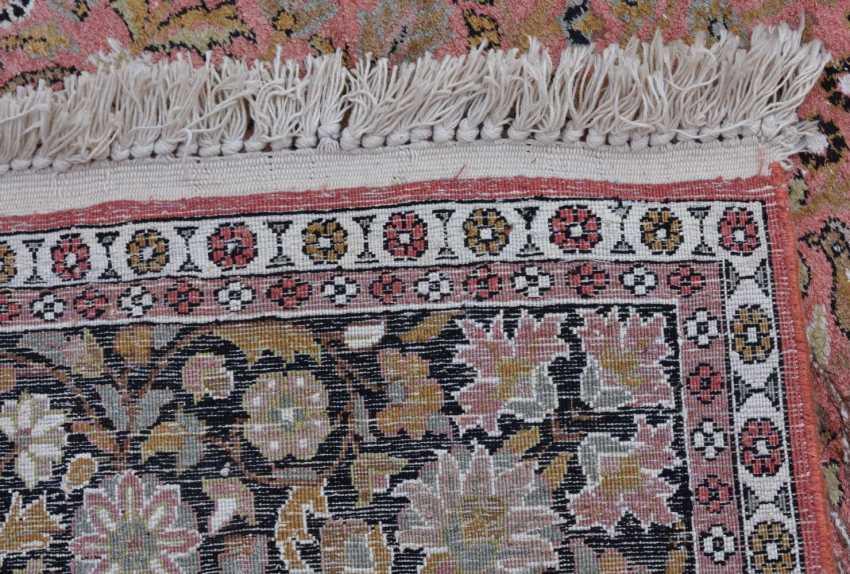 CARPET 16, silk/cotton, Orient 20. Century - photo 2