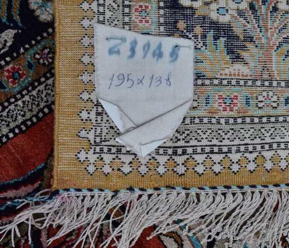 Hunting carpet KUN, silk on silk Orient 20. Century - photo 4