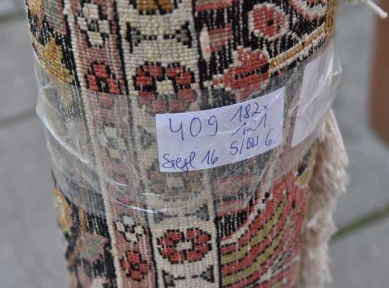 Hunting carpet KUN, silk on silk Orient 20. Century - photo 7