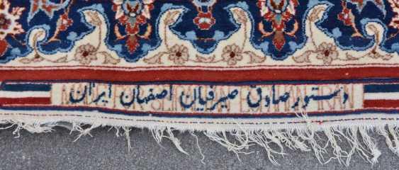 ISFAHAN, Dastur Sadegh Serafian, silk, signed, Central Iran 20. Century - photo 12