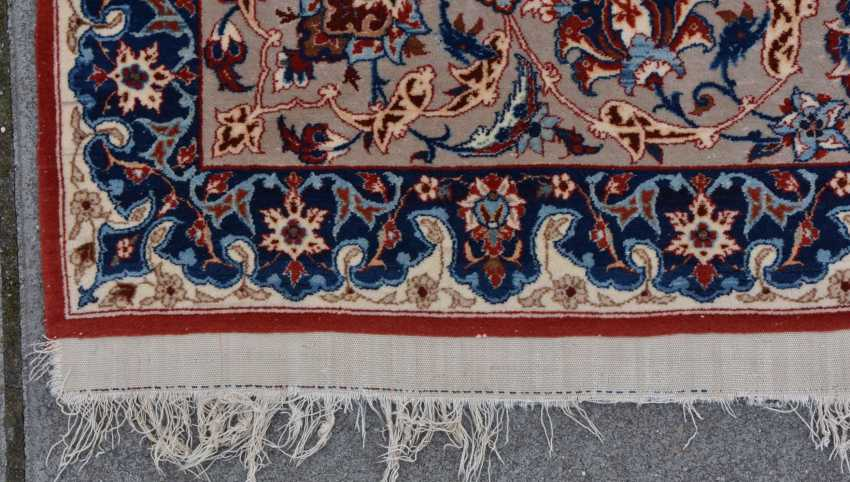 ISFAHAN, Dastur Sadegh Serafian, silk, signed, Central Iran 20. Century - photo 13