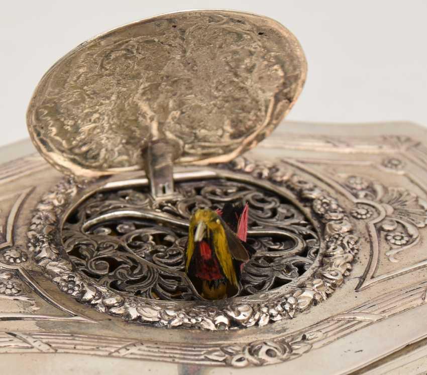 "GRIESBAUM: ""singing bird automaton"", 800 silver marked, Historisus, German Empire of the 1890s - photo 8"