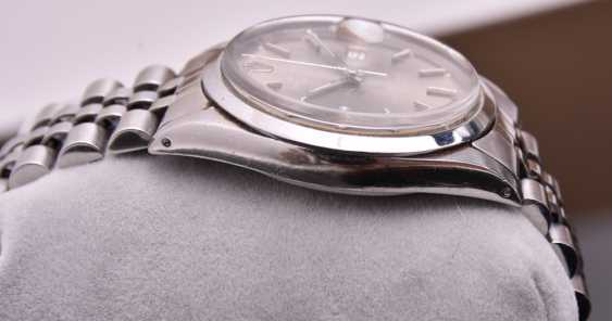 ROLEX OYSTER PERPETUAL DATEJUST watch, Unisex wrist watch, stainless steel, 1965 - photo 11