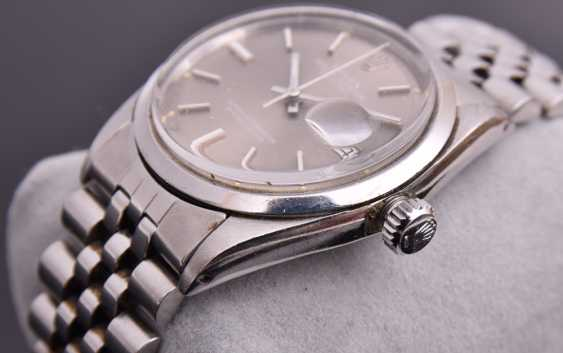 ROLEX OYSTER PERPETUAL DATEJUST watch, Unisex wrist watch, stainless steel, 1965 - photo 13
