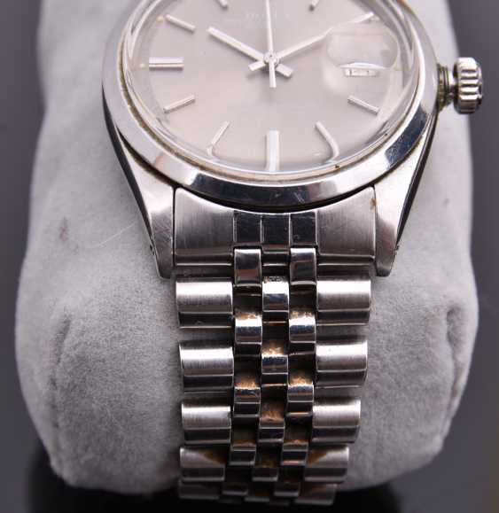 ROLEX OYSTER PERPETUAL DATEJUST watch, Unisex wrist watch, stainless steel, 1965 - photo 15