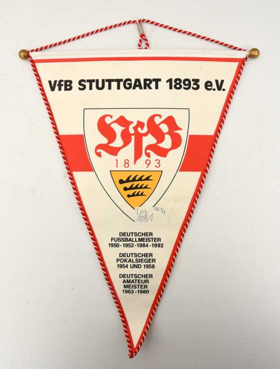 VFB PENNANT 2, with signatures, 1990s - photo 2