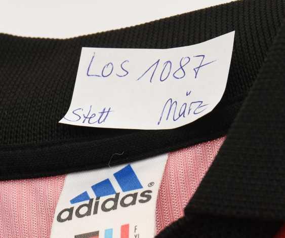 JERSEY BAYER LEVERKUSEN, EMERSON, No. 10, Adidas,signed, 2002 - photo 2