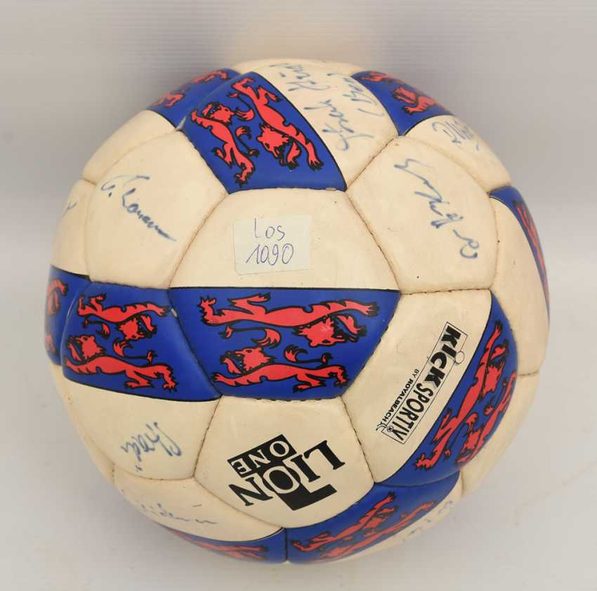 "SIGNED BALL ""WALDAU CUP 1994"", 1994 - photo 1"