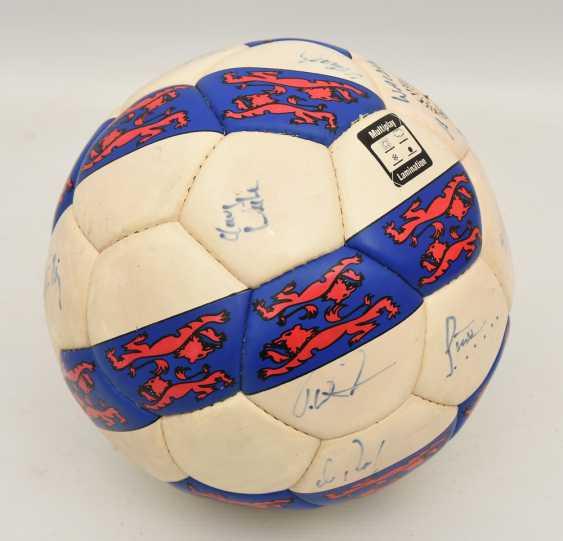 "SIGNED BALL ""WALDAU CUP 1994"", 1994 - photo 2"