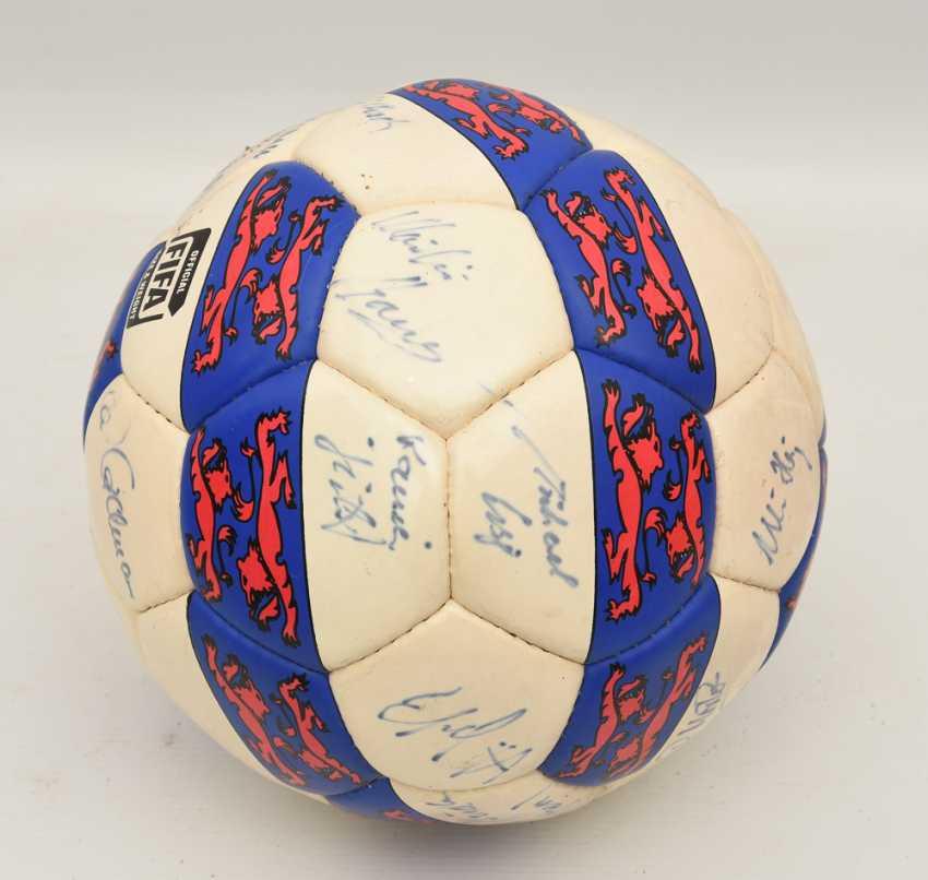 "SIGNED BALL ""WALDAU CUP 1994"", 1994 - photo 3"