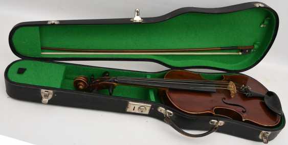 VIOLIN 5, after Stradivari, Italy 1. Half of the 20. Century - photo 1