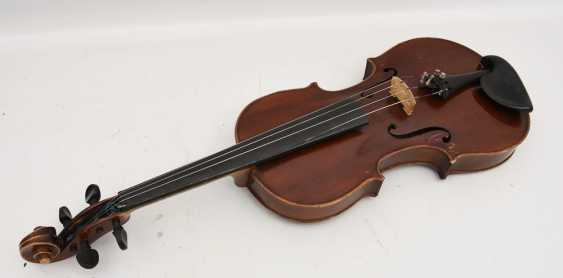VIOLIN 5, after Stradivari, Italy 1. Half of the 20. Century - photo 2