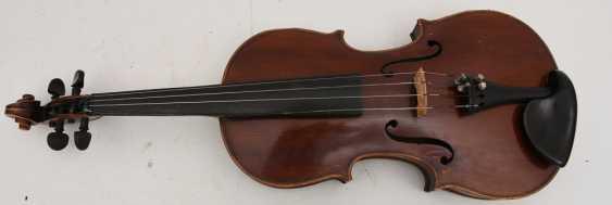 VIOLIN 5, after Stradivari, Italy 1. Half of the 20. Century - photo 4
