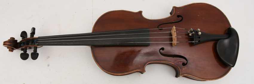 VIOLIN 5, after Stradivari, Italy 1. Half of the 20. Century - photo 6
