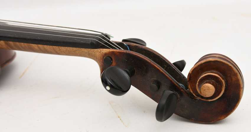 VIOLIN 5, after Stradivari, Italy 1. Half of the 20. Century - photo 9