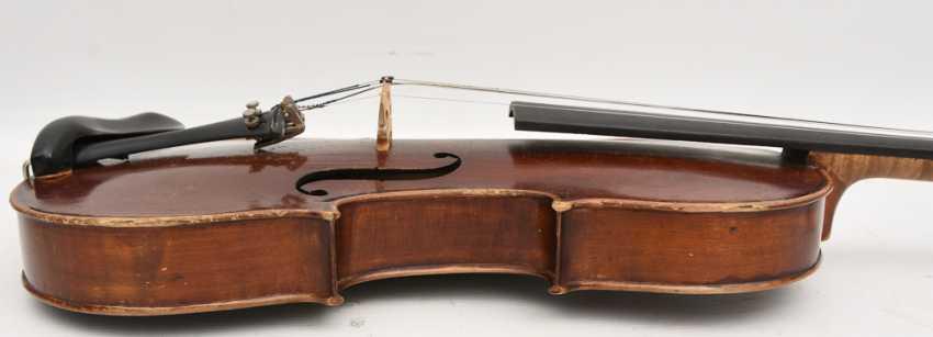 VIOLIN 5, after Stradivari, Italy 1. Half of the 20. Century - photo 10