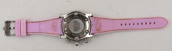 GLAM ROCK women's WATCH PINK, stainless steel/silicone, around 2000 - photo 5