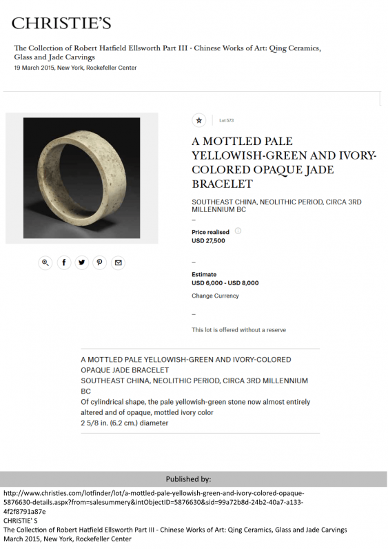 A UP TO A WALL THICKNESS OF ONLY 1 MM HOLLOWED-OUT BANGLE BRACELET ZHUO - photo 3