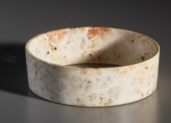 A UP TO A WALL THICKNESS OF ONLY 1 MM HOLLOWED-OUT BANGLE BRACELET ZHUO - photo 1