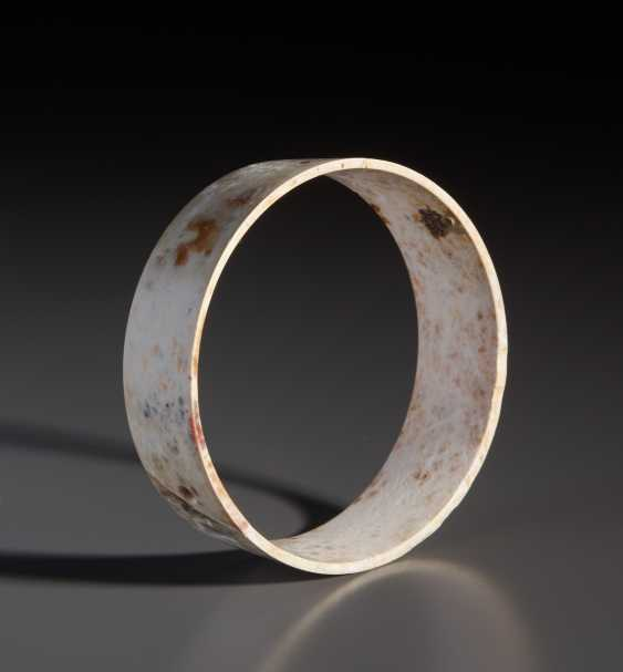 A UP TO A WALL THICKNESS OF ONLY 1 MM HOLLOWED-OUT BANGLE BRACELET ZHUO - photo 2