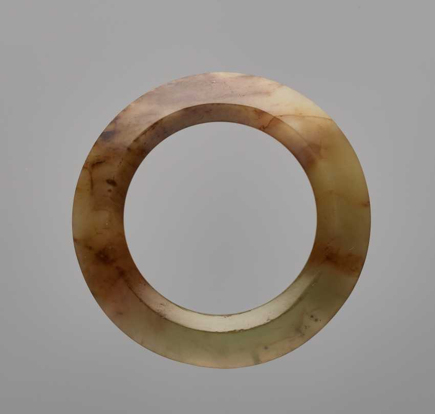 NOBLE, FACETED POLISHED RING - photo 1