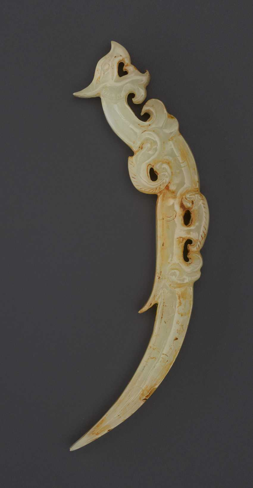 KNOT OPENER IN THE FORM OF DRAGON – COUNTERPART TO THE DRAGON IN THE ROYAL NANYUE PECTORAL - photo 1