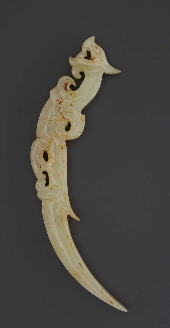 KNOT OPENER IN THE FORM OF DRAGON – COUNTERPART TO THE DRAGON IN THE ROYAL NANYUE PECTORAL - photo 2