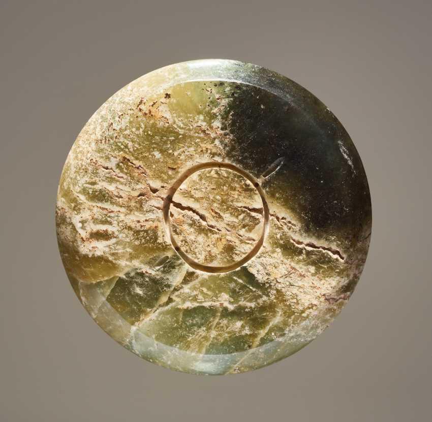 HEAD PIECE A SWORD MOUNT JIANSHOU WITH STUDS DECOR AND VOLUTES