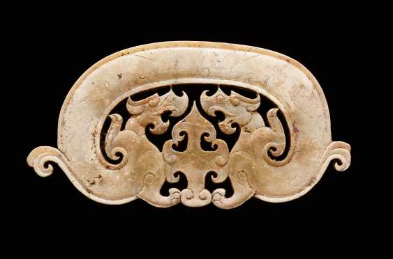 TWO-HEADED DRAGON PENDANT – DRAGON AMULET IN THE PECTORAL OF THE KING'S TOMB NANYUE