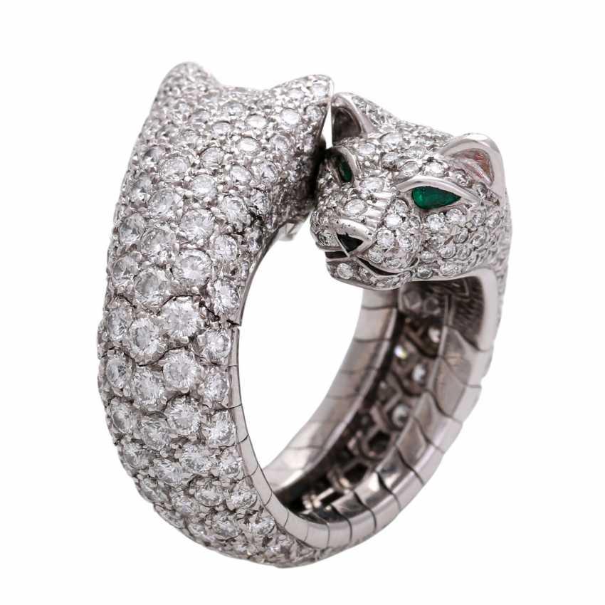 4b8aa73bde3a2 Lot 1. CARTIER Ring Panther Cartier