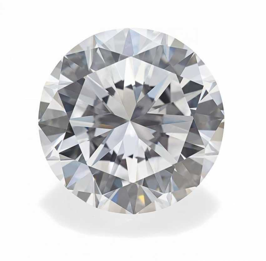 LOSER BRILLANT. Approx. 5,08 ct fine White(E) VVS1, CA. EUR 11.08-11,18x6,64mm. - photo 1