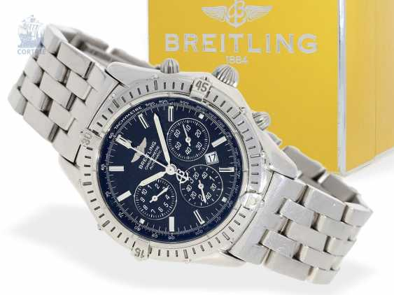 Watch: a sporty automatic Chronograph, Breitling
