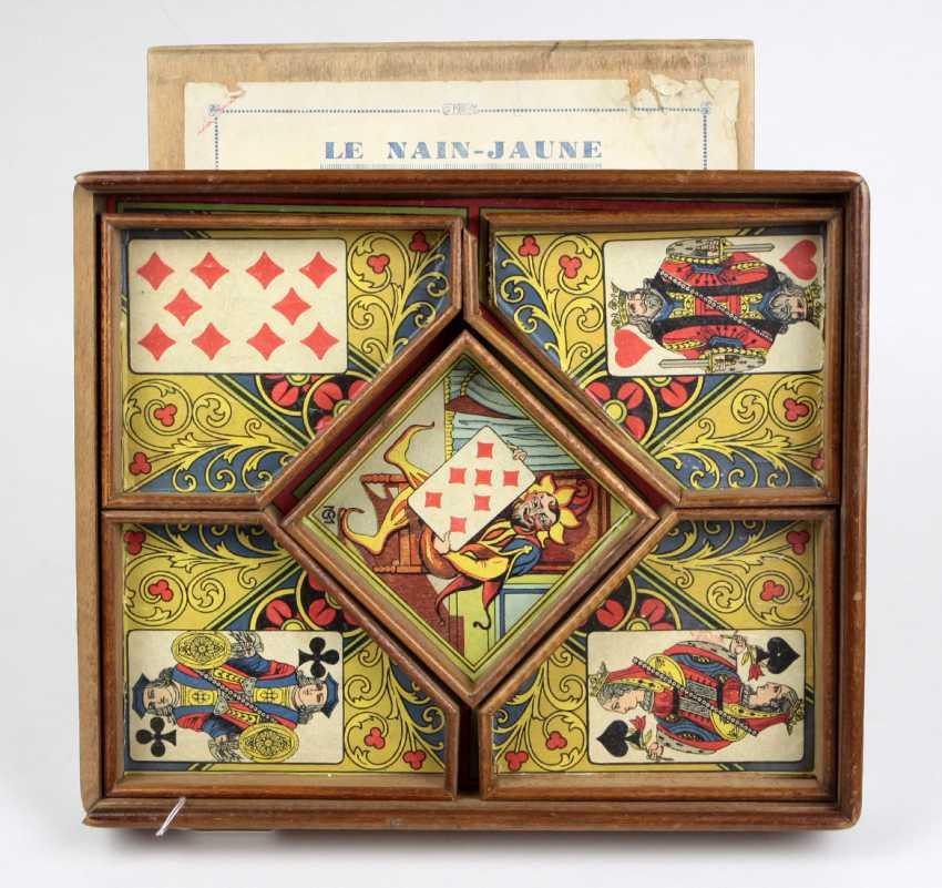 французская карточная игра