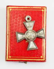 Russia: St. Georgs order, the special shape of the final inheritance in 1840, soldiers of the cross, in a case.