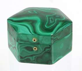 Malachite Lidded Box